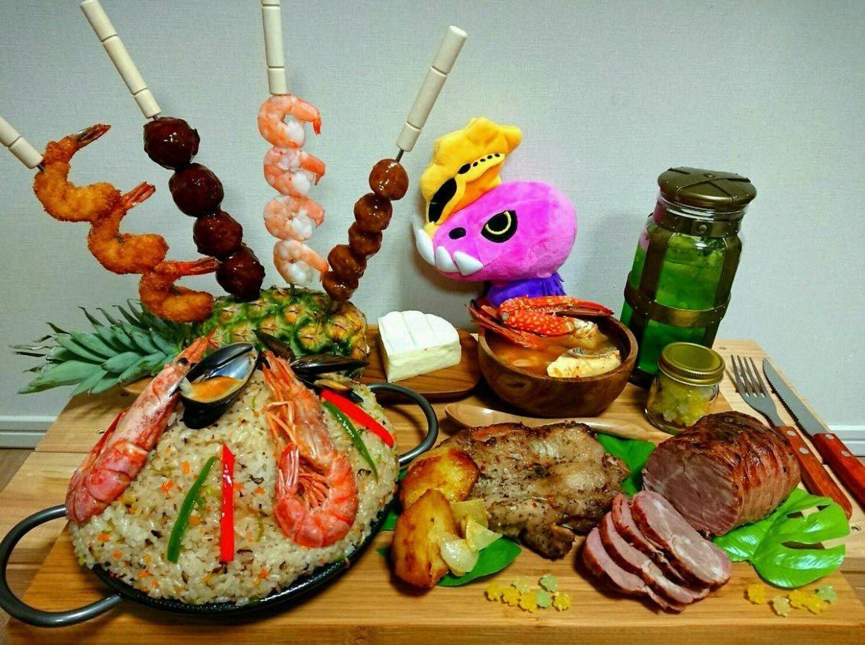 Monster Hunter - Cibo - Food - Mensa - Real - Vero - MHW - Guida - Abilità - Felyne