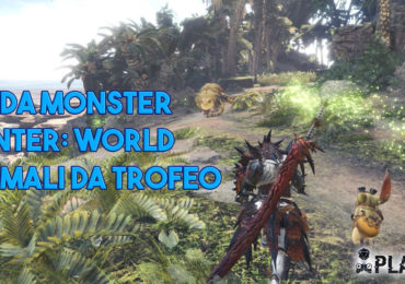 Monster Hunter World Pets Animali