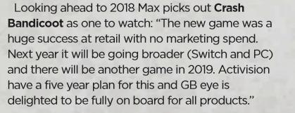 Crash Bandicoot ritornerà nel 2019