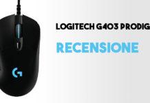 Recensione: Logitech G403 Prodigy