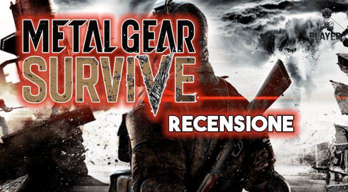 metal gear survive recensione