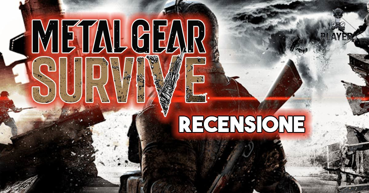 metal gear survive recensione