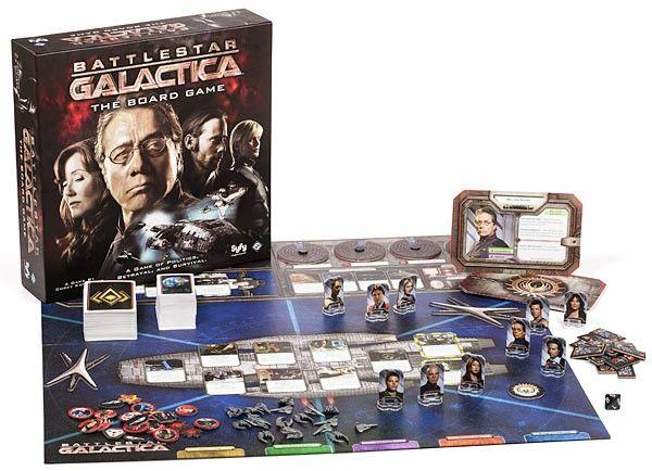 battlestr galactica gioco da tavolo