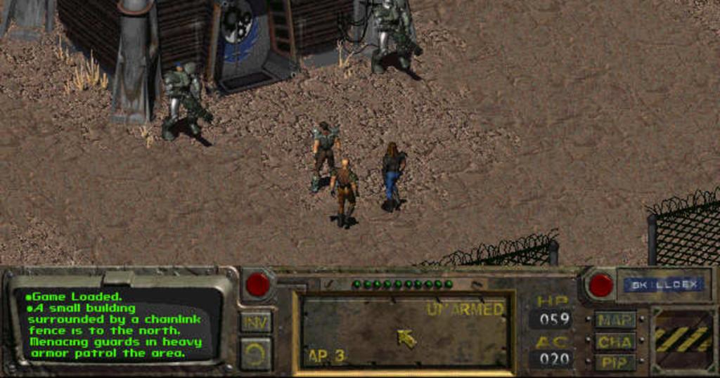 Fallout 1 isometric 1