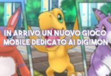 In arrivo un nuovo gioco mobile dedicato ai Digimon