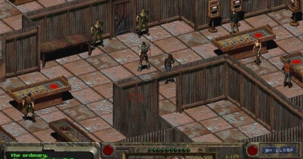 Fallout 1 isometric 2