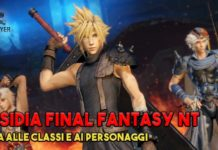 guida dissidia final fantasy nt