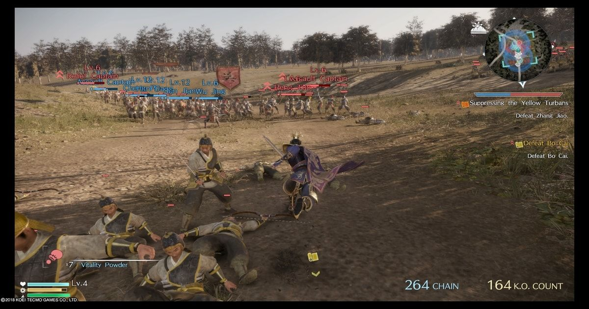 dynasty warriors 9 combattimenti