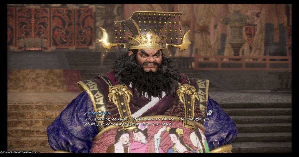 dynasty warriors 9 trama
