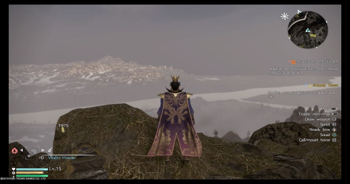 dynasty warriors 9 open world