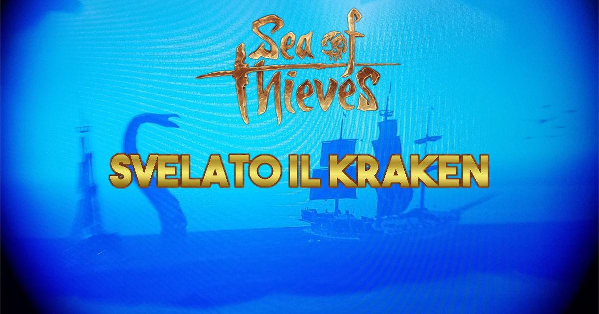 Sea of Thieves: alcuni leak svelano il Kraken
