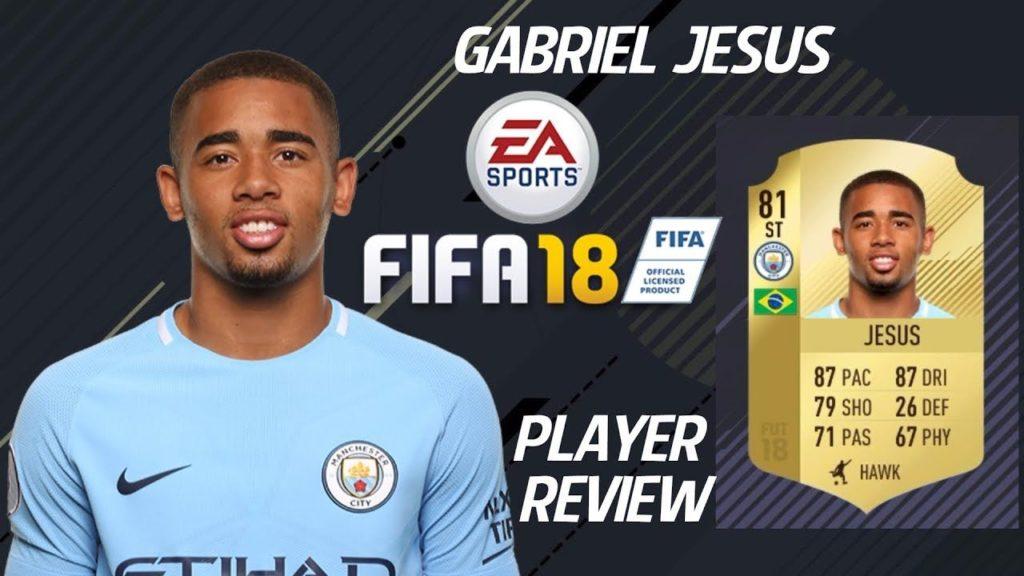 Gabriel Jesus FUT Fallomento EA