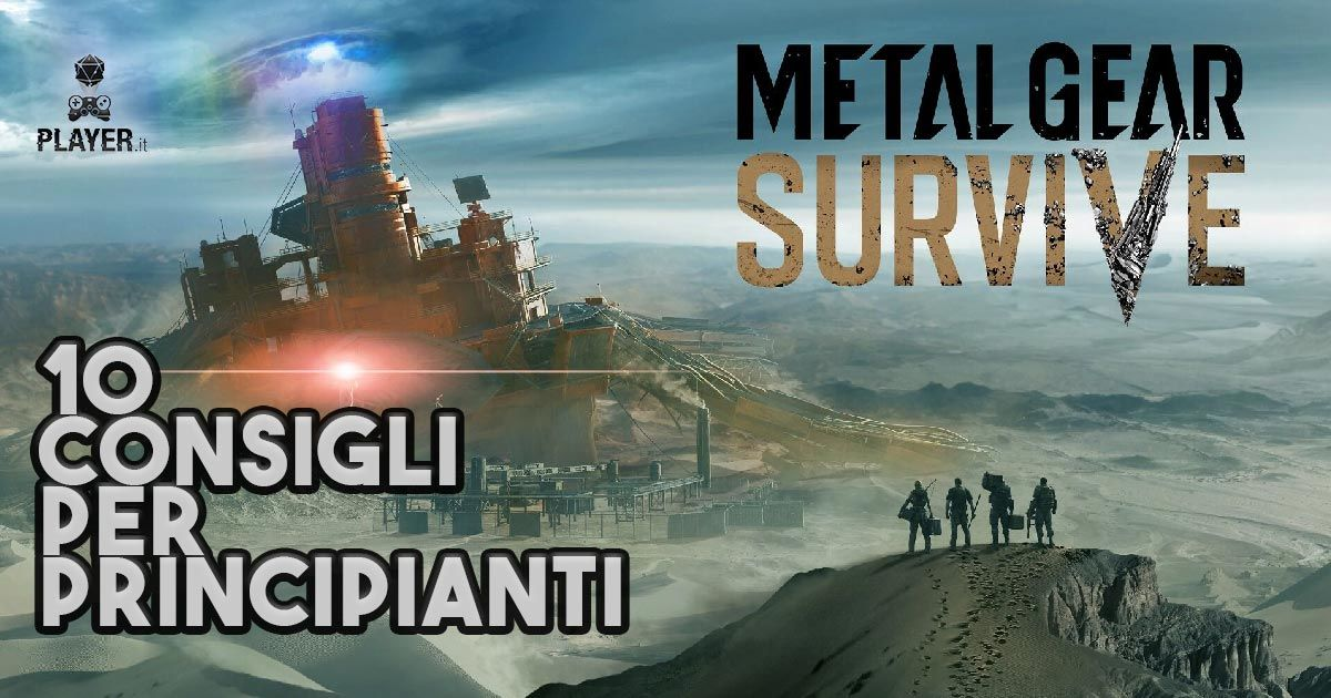 Metal gear survive guida