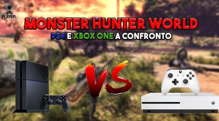monster hunter world ps4 xbox one