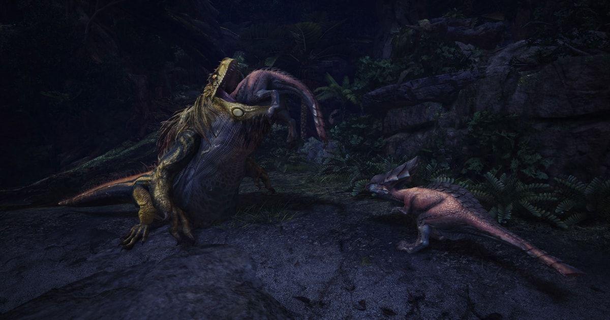 monster hunter world interazioni