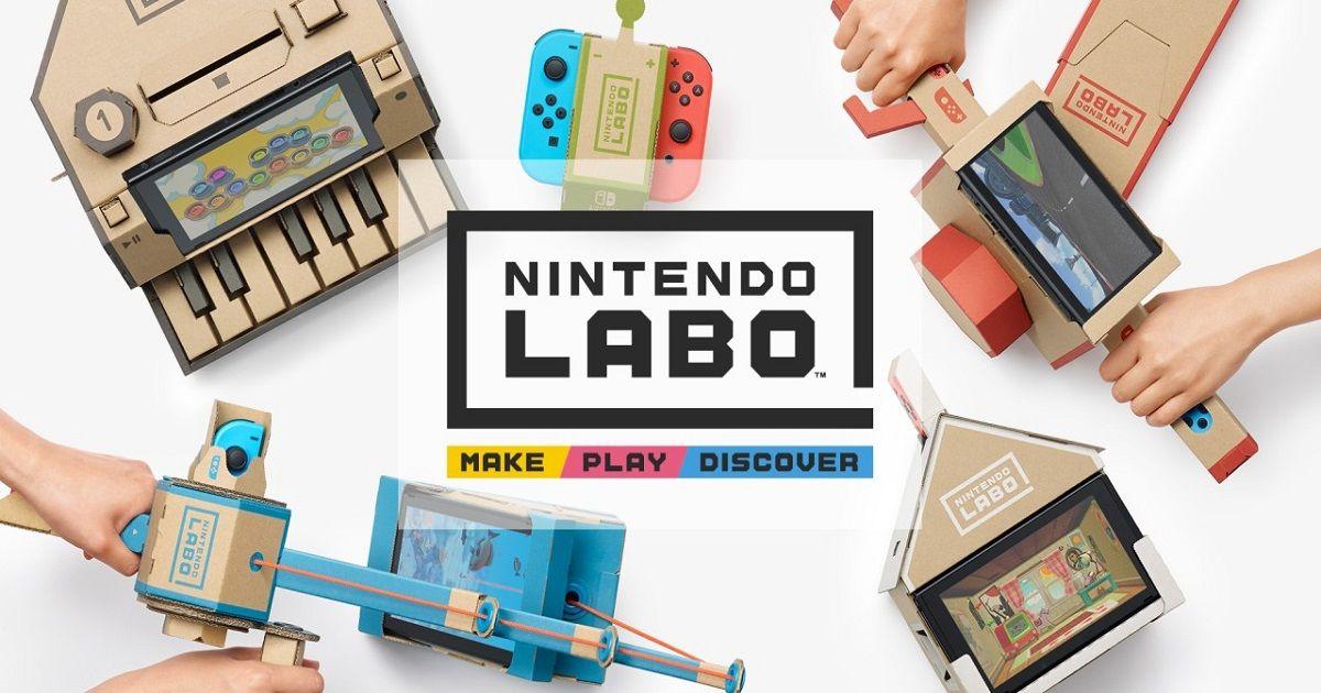 Secondo Nintendo la durabilità di Labo sarà parte del divertimento