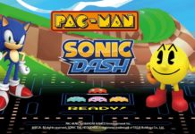 pac man sonic mobile