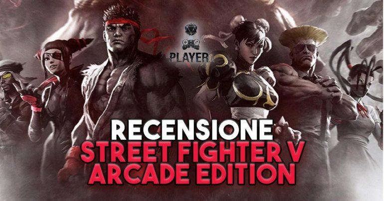 street fighter v arcade edition recensione