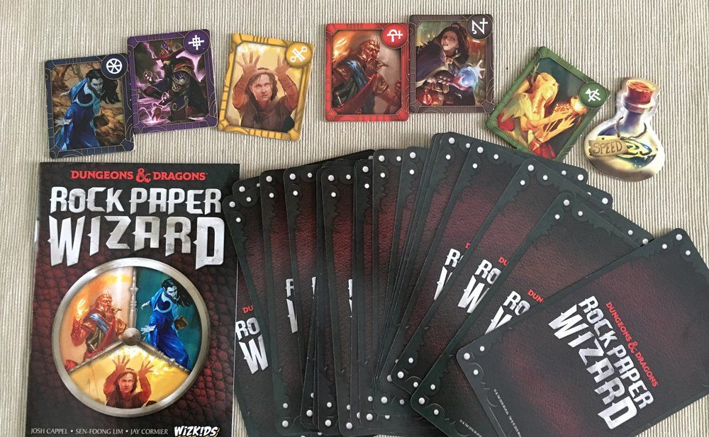 Rock Paper Wizard dungeons & Dragons ghenos