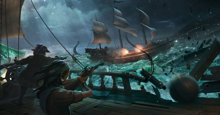 sea of thieves pirati leggendari