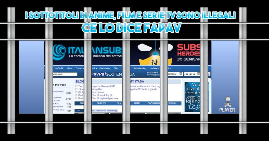 italiansubs sottotitoli serie tv anime film