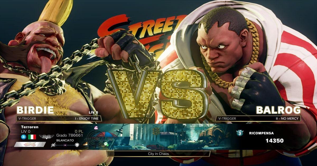 street fighter v single player