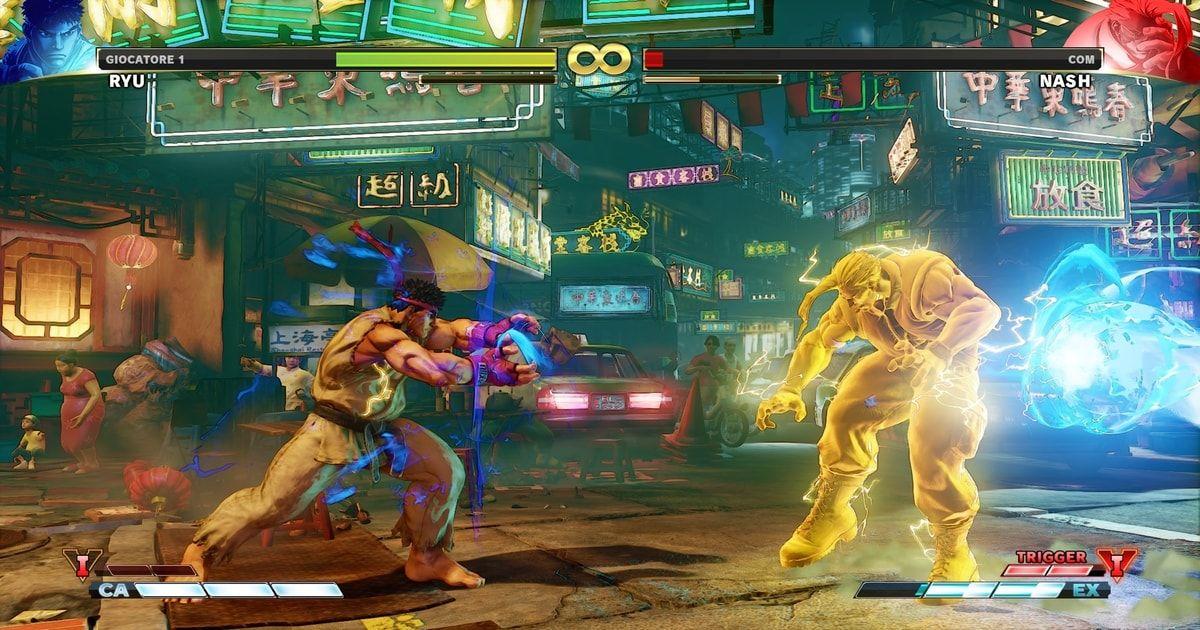 street fighter v v-trigger
