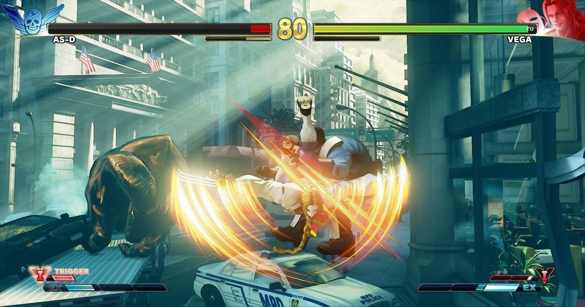 street fighter v roster
