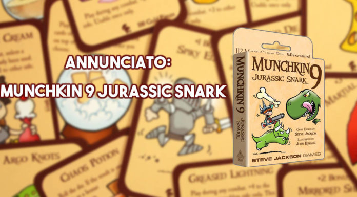 Annunciato Munchkin 9: Jurassic Snark