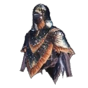 Mantello impermeabile- Wateproof Mantle - Mantles - Monter Hunter World - MHW