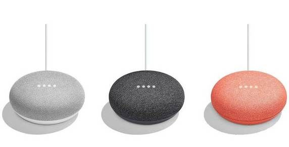 Colorazioni Google Home Mini