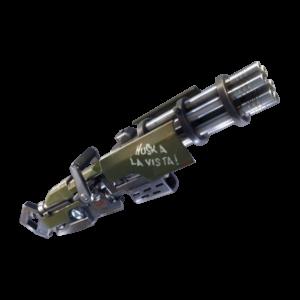Fortnite guida armi minigun mitragliatrice