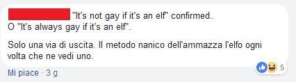 Commento sugli elfi