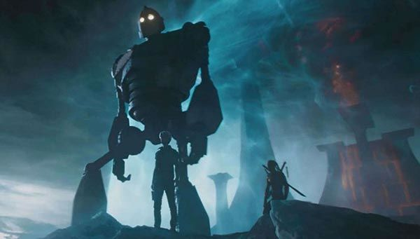 Gigante di ferro in Ready Player One