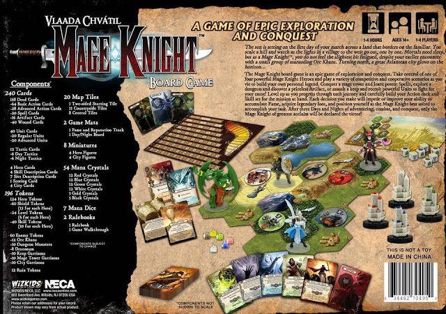 mage knight wizkids giochiuniti