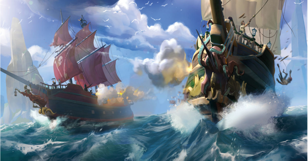Sea of Thieves: un video mostra la personalizzazione della nave e la scelta dell'avatar