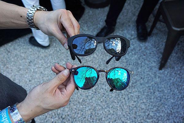 Smart glasses discreti