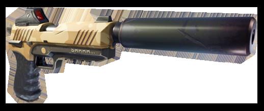 Fortnite pistola silenziata silenced pistol