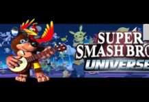 super smash bros banjo kazooie