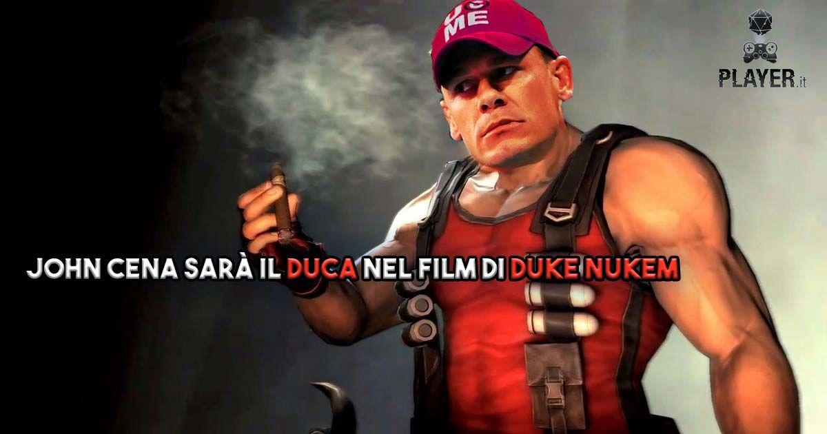 John Cena sarà il Duca nel film di Duke Nukem
