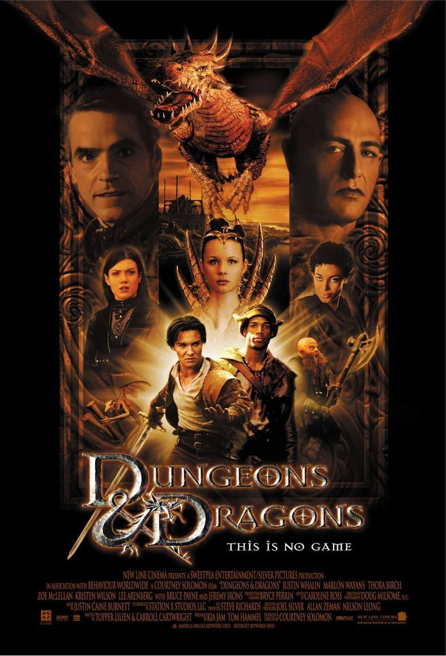 Dungeons & Dragons the movie 2000