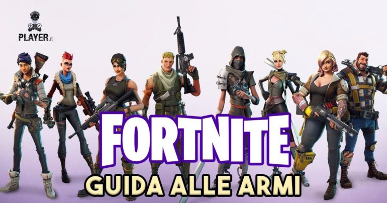 Fortnite guida alle armi for Fortnite disegni da colorare