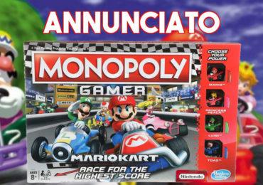Annunciato Monopoly Gamer: Mario Kart Edition