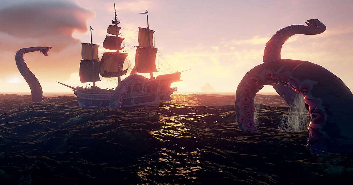 kraken sea of thieves