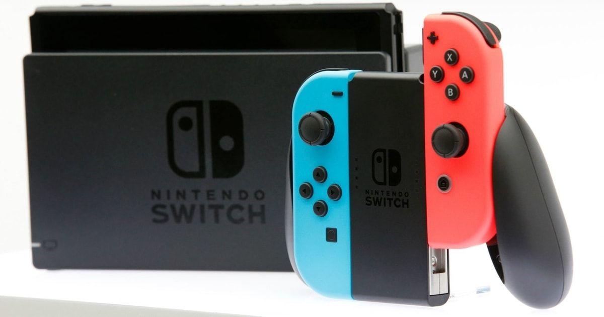 nintendo switch record