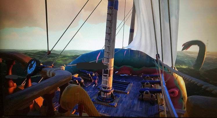 kraken sea of thieves guida
