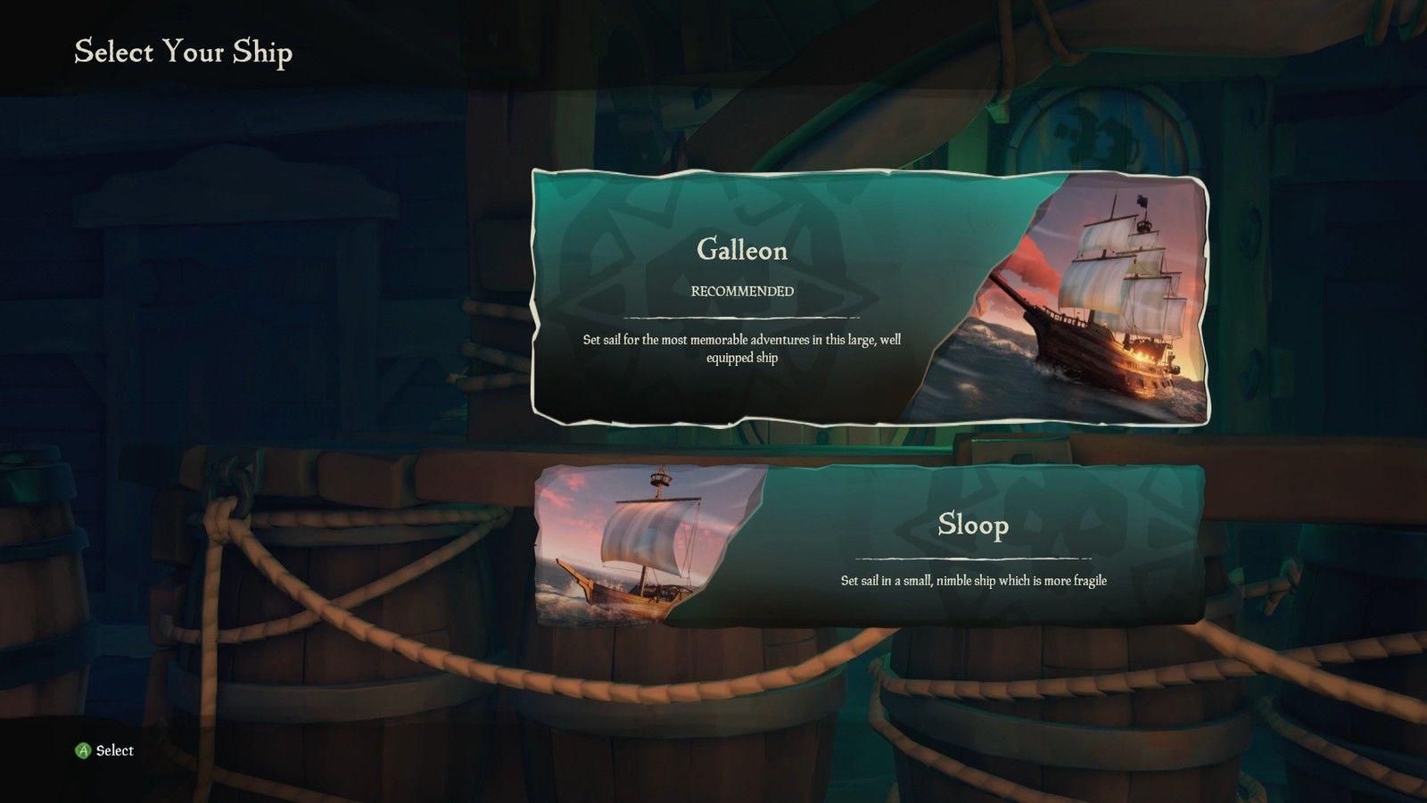 sea of thieves equipaggio