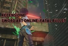sword art online fatal bullet recensione