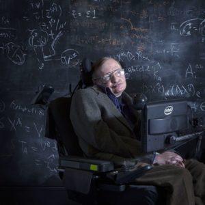 Stephen Hawking - Blackboard