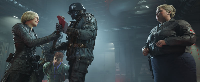 Wolfenstein II: The New Colossus Switch data uscita